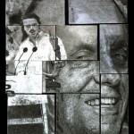 Cadáver exquisito de José María Aznar / Manuel Fraga