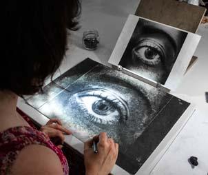 El dibujo a partir de la fotografía